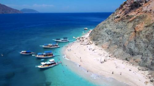 Paradise island in Kemer