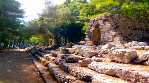 Phaselis how to get from Kemer