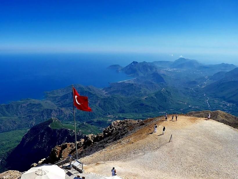 The highest mountain in Turkey Kemer