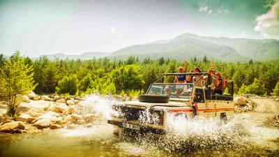 Jeep-safari in Kemer