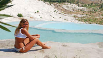 Pamukkale from Kemer for one day
