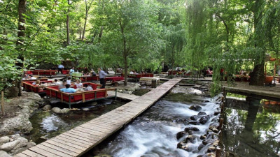Picnic and fishing Ulupynar in Kemer