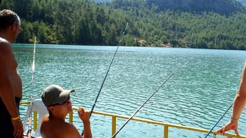 Пикник и рыбалка на озере Караджаорен Кемер