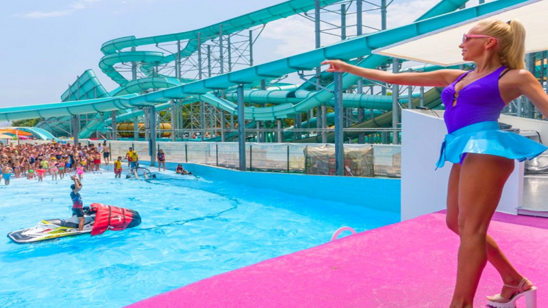 Dolu Su Water Park in Kemer