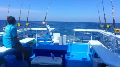 Морская рыбалка в Кемере