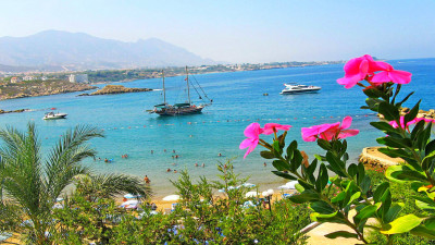 Northern Cyprus from Kemer