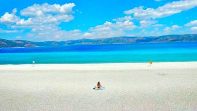 Lake Salda and Pamukkale from Kemer
